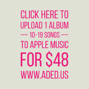 Apple Music - Upload your album